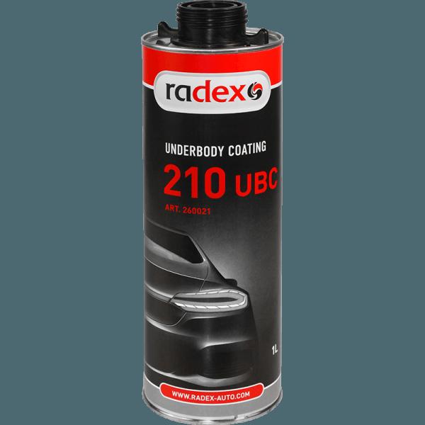 Битумный состав для днища Radex 210 UBC 1л