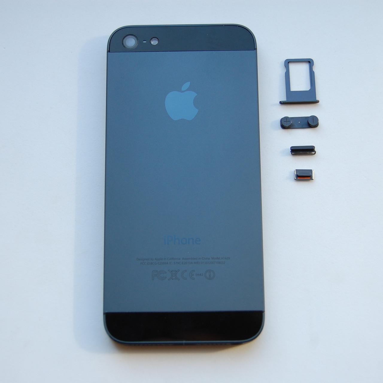 Корпус Apple iPhone 5 Black
