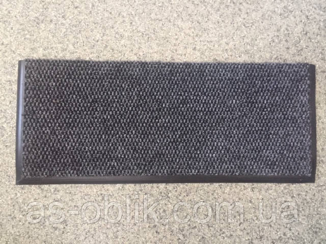 Накладка противоскользящая на ступени ковровая  600х245 мм самоклеющаяся