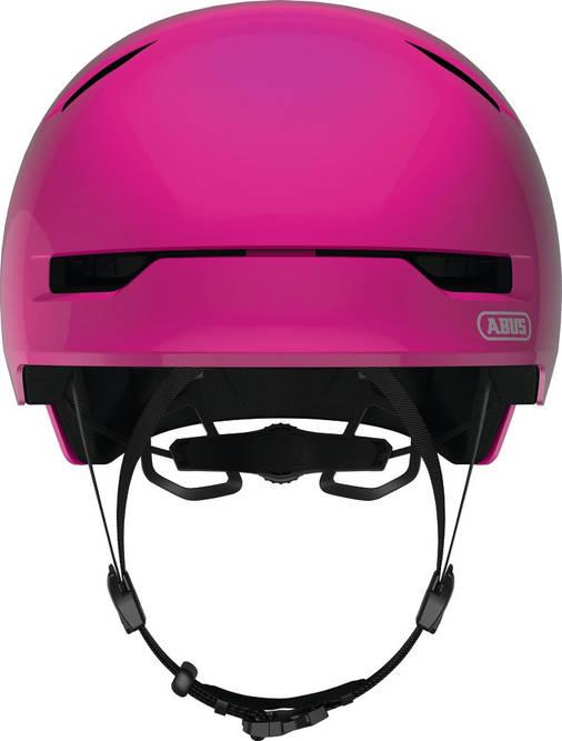 Велосипедний дитячий шолом ABUS SCRAPER 3.0 KID M Shiny Pink, фото 2