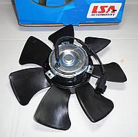 Мотор вентилятора радиатора с кондиционером, с крыльчаткой Ланос LSA