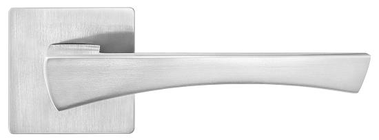 Ручка для дверей на розетці Z-1420 матовий хром