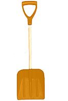 Лопата автомобильная пластиковая оранжевая