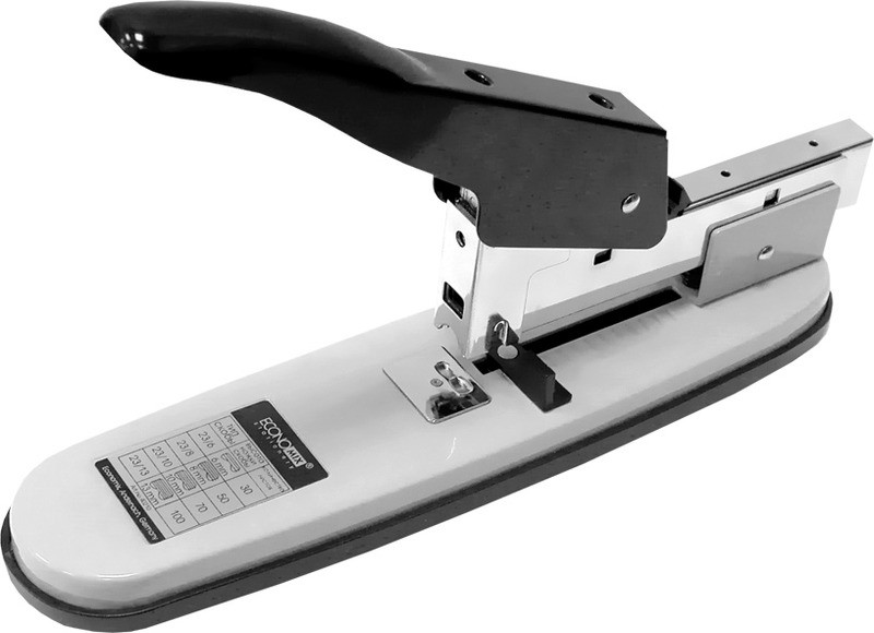 Степлер потужний до 100 аркушів в залізному корпусі (E40210)
