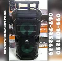 Колонка с микрофонами SL208-22 (802) Караоке система с аккумулятором