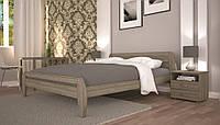 Кровать из натурального дерева Нове 1 ТМ Тис