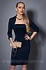Платье женское с балеро,мод 473-1 размеры  40-42