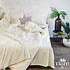 Комплект постельного белья страйп сатин Тиара полуторный размер 70