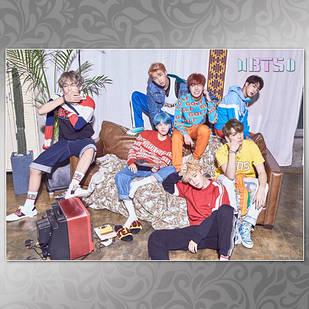 Плакат K-Pop BTS 001