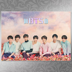 Плакат K-Pop BTS 002