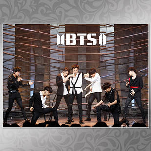 Плакат K-Pop BTS 003