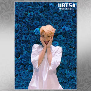 Плакат K-Pop BTS 004