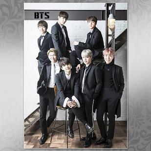 Плакат K-Pop BTS 008