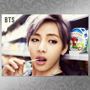 Плакат K-Pop BTS 252