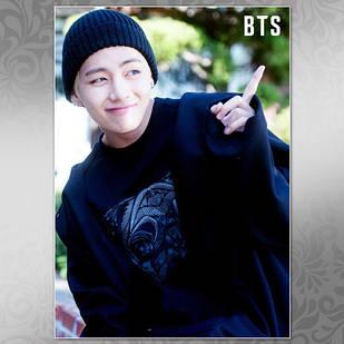 Плакат K-Pop BTS 253