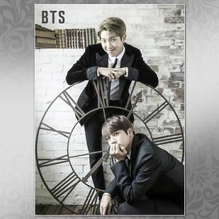 Плакат K-Pop BTS 254