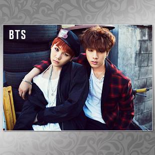 Плакат K-Pop BTS 260