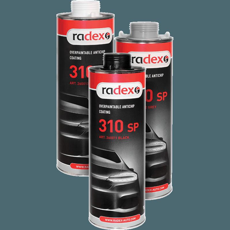 Антигравийное покрытие RADEX 310 SP черный 1л