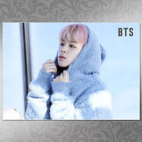Плакат K-Pop BTS 345