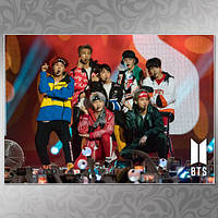 Плакат K-Pop BTS 402