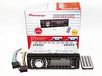 Бюджетная автомагнитола Pioneer 2032 MP3 USB флешки SD карты памяти AUX FM (4x50W) Купить онлайн Код: КДН5073