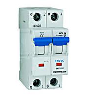 Автоматический выключатель постоянного тока BM 10kA 2P 2A х-ка C 40 ° С Schrack