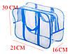 Компактная сумка в роддом/для игрушек ORGANIZE (синий), фото 3