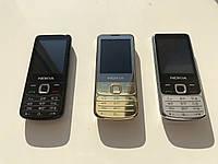 Кнопочный телефон Nokia 6700 Duos (копия)! Чёрный/Стальной/Золотой!