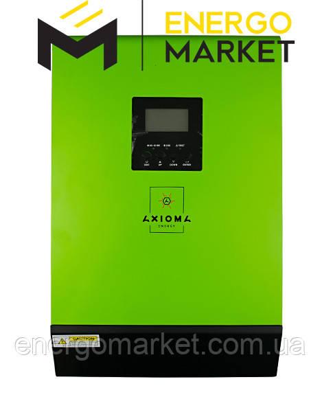 Инвертор сетевой AXIOMA energy ISGRID 5000 с резервной функцией (5 кВт, ИБП)