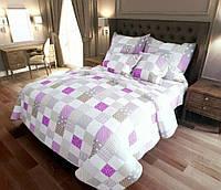 """Комплект постельного белья """"Пэчворк розовый"""", бязь"""
