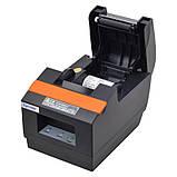 Термопринтер, POS, чековый принтер Xprinter XP-Q90ECL black (Q90ECL), фото 3