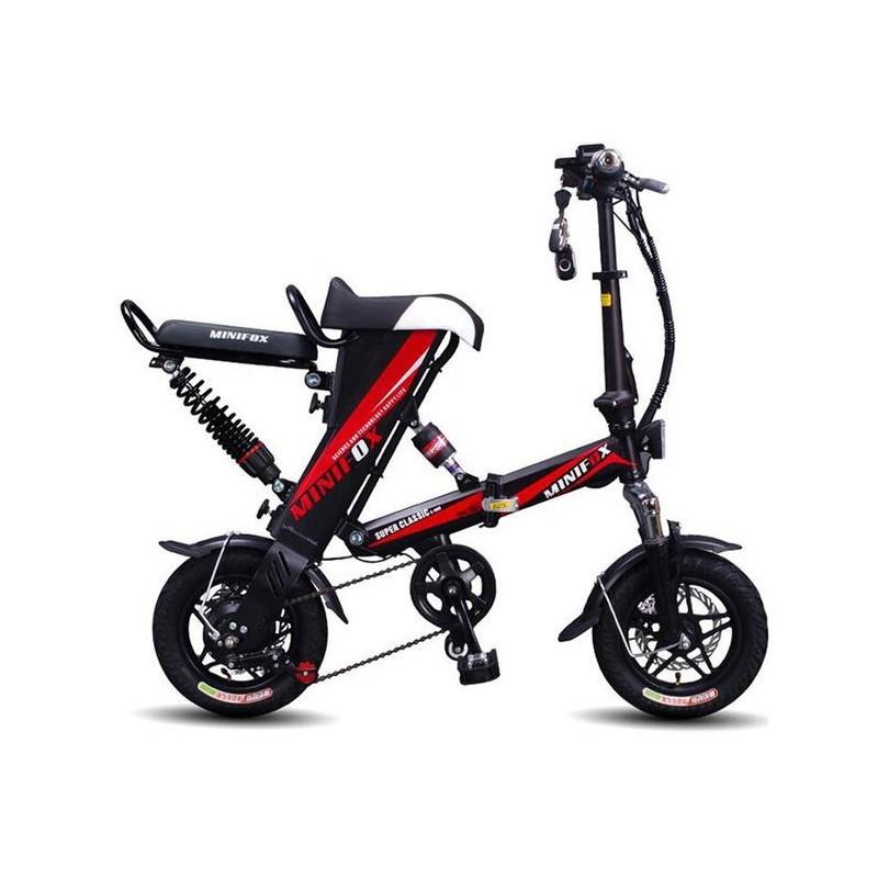 Електровелосипед E-BIKE MiniFOX навантаження до 140 кг велосипед на моторі 250W