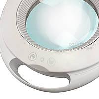 Увеличительная лампа-лупа CQ-6027К LED —5 диоптрий 1-12W с регулировкой яркости