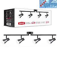Спотовый светильник MAXUS MSL-02C 4x4W 4100K черный