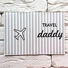 Обложка на паспорт Travel daddy, фото 3