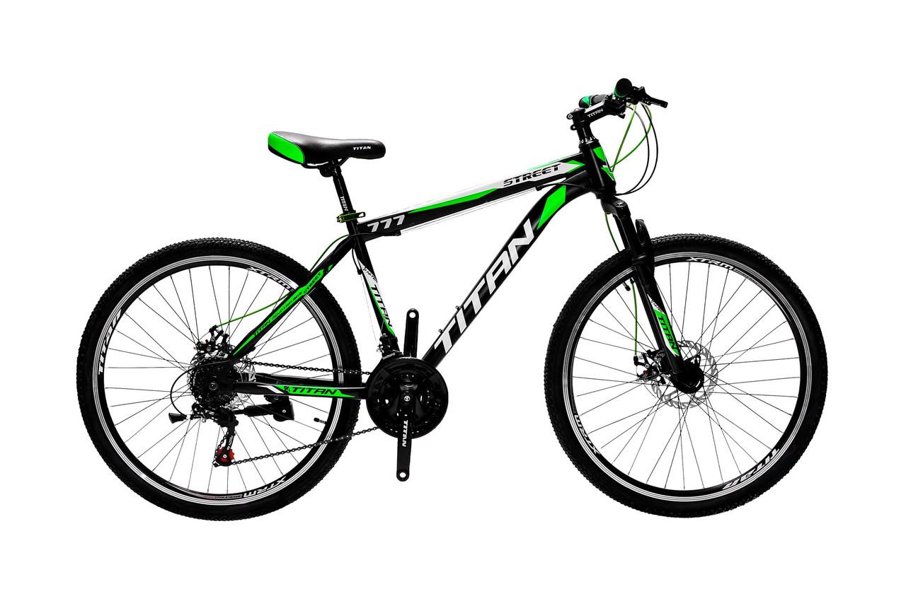 """Горный дисковый велосипед 26"""" TITAN STREET DD (Shimano, моноблок)"""