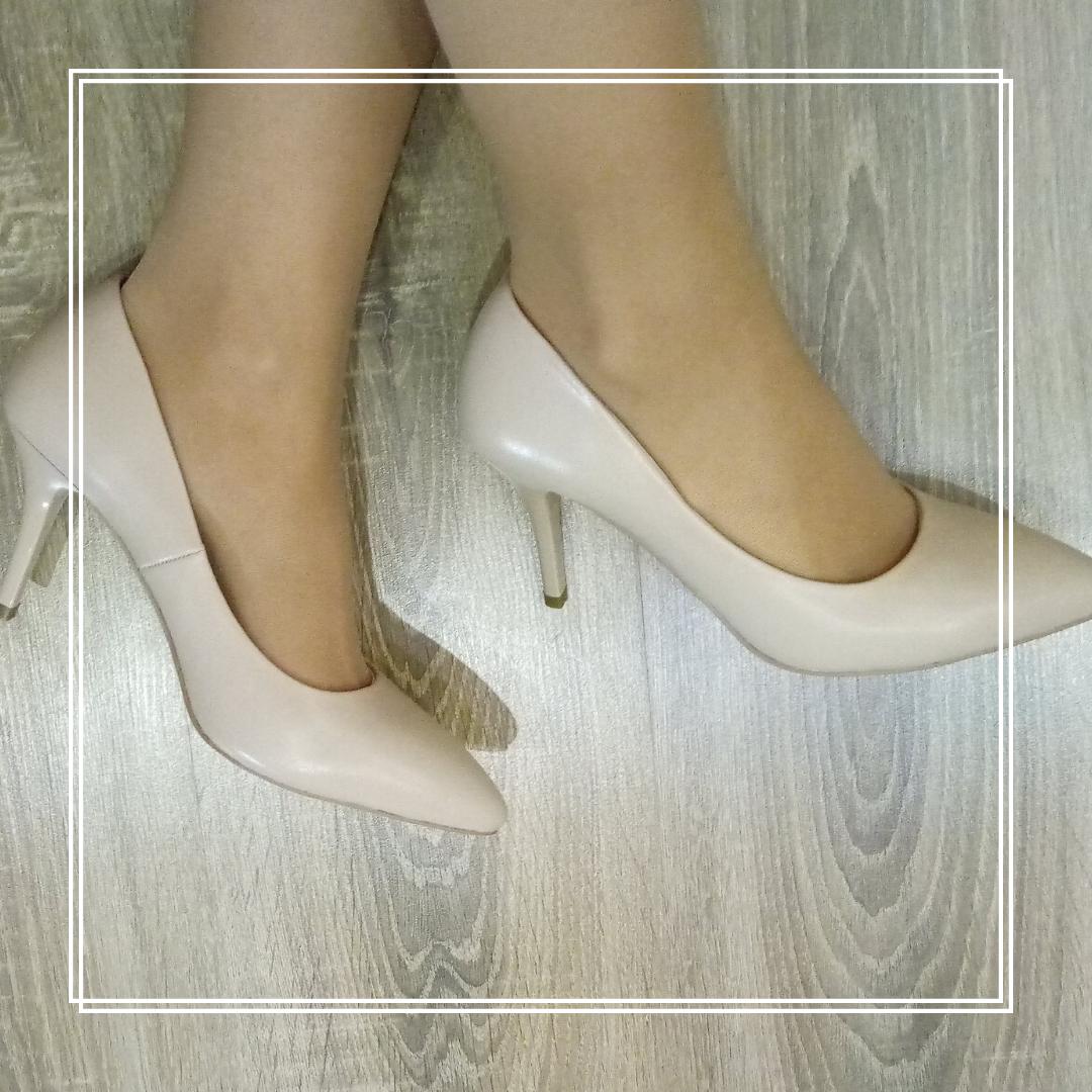 Классические туфли Lino Marano A26-8 беж кожа маленькая шпилька