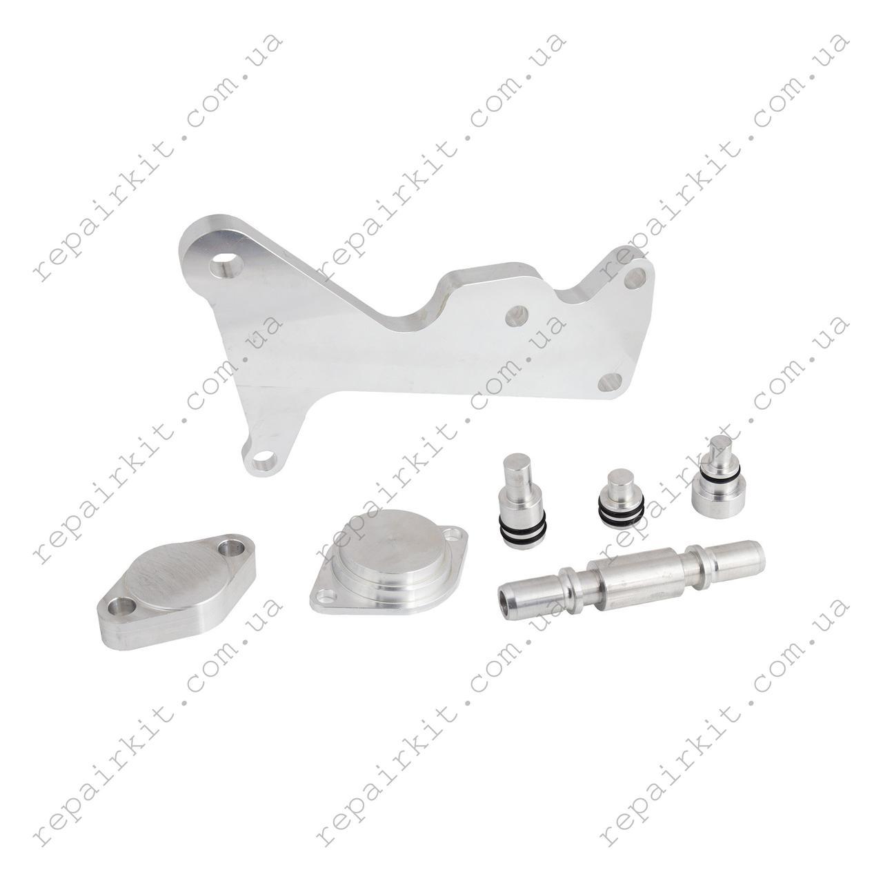 Комплект для удаления ЕГР, теплообменника и вихревых заслонок BMW N57 дорестайлинг