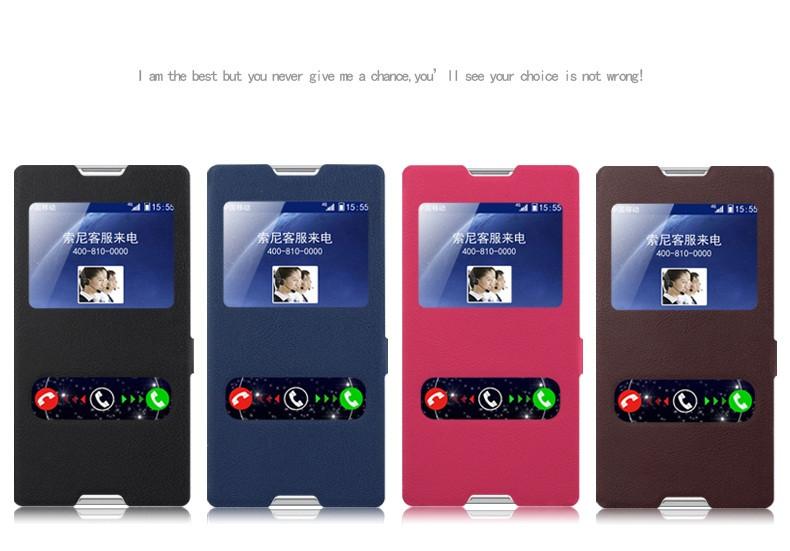 """SONY T2 ULTRA D5322 XPERIA оригинальный чехол книжка влагостойкий для телефона """" LIOSUM"""""""