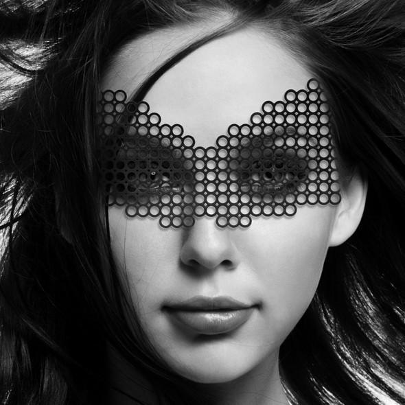 Виниловая маска Bijoux Indiscrets Eyemask Erika