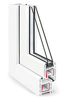 Металлопластиковое окно из профиля REHAU Euro-Design 60