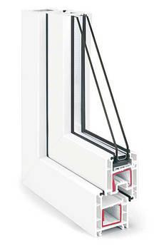 Металопластикове вікно з профілю REHAU Euro-Design 60