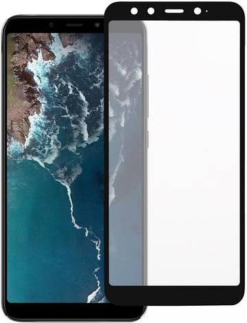 Защитное стекло 2E 3D для Xiaomi Mi A2 / Mi 6X на Весыь экран Черная рамка, фото 2