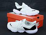 Мужские кроссовки Nike Free Run (бело-черные), фото 3