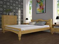 Кровать из натурального дерева Корона 1 ТМ Тис
