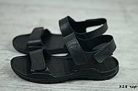 Мужские кожаные сандалии Cardio  (Код: 328 чер  ) ► [40,41,42,43,44,45], фото 1