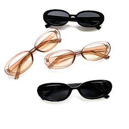 Женские солнцезащитные овальные очки v8219