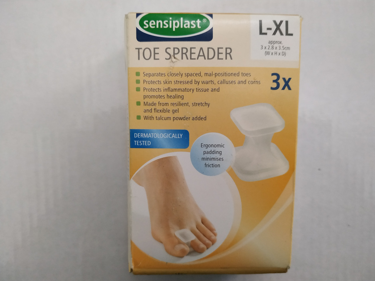 Пластырь медицинский Sensiplast Toe spreader L-XL2