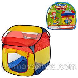 Палатка детская M 0509 домик, 110х92х114 см