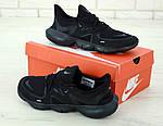Мужские кроссовки Nike Free Run (черные), фото 2